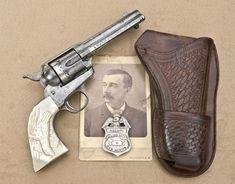 Clanton Gang Member Joe Hill's Colt Quickdraw Model Single Action Army Revolver