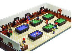 Biliard club #LEGO Custom Design