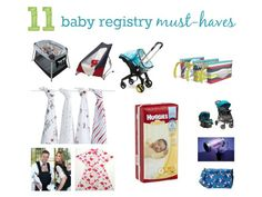 Great list of registry must-haves from an experienced mom. #BabyCenter