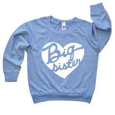 Hey, I found this really awesome Etsy listing at https://www.etsy.com/listing/207107140/big-sister-heart-shirt-baby-announcement