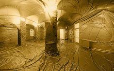 Plastiqué du sol au plafond protection plastique 03 bonus art