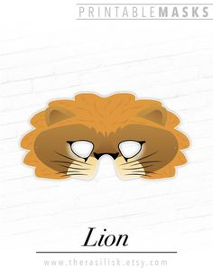 Printable Lion Mask, Jungle Party Mask, Lioness, # #printable #lionmask #jungleparty #mask #lioness #printableanimal #masks #circusmask #photo #boothprop #wildcat #costume #king Printable Halloween Masks, Printable Animal Masks, Animal Themed Birthday Party, Lion Mask, Paper Mask, Christmas Tree Cards, Jungle Party, Cat Costumes, Mask Party