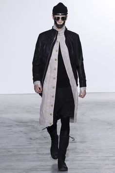 Visions of the Future // Boris Bidjan Saberi Fall 2016 Menswear Fashion Show