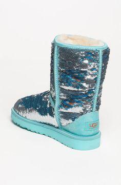 UGG® Australia Classic Short Sparkle Boot (Women)