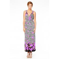 Stunning #Summer #Maxi #Dress with laced back - perfect for casual day wear.