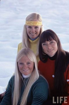 "Aspen Girls. Life Magazine. March,1971-- ""A Very Nice Kind of Ski Bum"" photo by…"