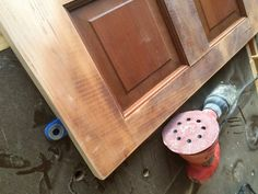 Headboard From Old Door, Door Headboards, Bed Frame And Headboard, French Cleat System, Chair Rail Molding, Build A Frame, Reclaimed Doors, Big Box Store, Solid Doors