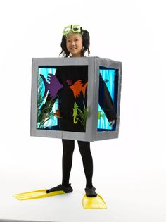 halloween-aquarium and other costumes