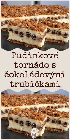 Czech Recipes, Ethnic Recipes, Biscotti Cookies, Tiramisu, Tart, Pie, Sweets, Food And Drink, Cooking