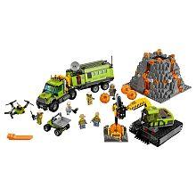 """LEGO City - Base de Exploração do Vulcão - 60124 - LEGO - Toys""""R""""Us"""