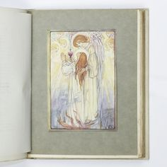 Christina Rossetti Poems First edition illustrated by Florence Harrison. Full white buckram with gilt titles and Art Nouveau design in gilt to spine and covers. Top edge gilt and others untrimmed.