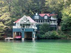 stayed here...lakehouse @ lake rabun