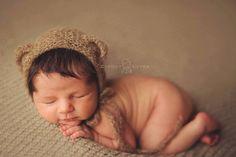 alpaca bear hat by MyLittleRarities on Etsy