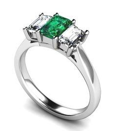 emerald rings engagement | View quality Emerald Engagement Rings at Ace Jewellery, Leeds