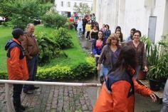 CONSTRUINDO COMUNIDADES RESILIENTES: D.C. de Petrópolis Realiza Simulado em Prédio da P...