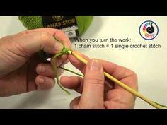 Les bases du crochet pour les débutants - Idées conseils et tuto Crochet et tricot