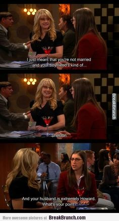 That is extremely Howard – Big Bang Theory - http://breakbrunch.com/lol/14547 More Funny Picture