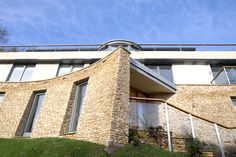 HRA's exciting design achieved consent at appeal for an uncompromisingly contemporary eco house in Lyncombe Vale, Bath. Eco Homes, House Bath, New Builds, Architects, Contemporary, Building, Design, Construction, Building Homes