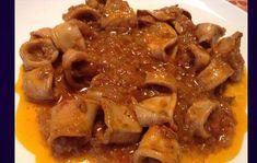 Καλαμαράκια στιφάδο (3 μονάδες) Beef, Vegan, Food, Meat, Essen, Meals, Vegans, Yemek, Eten