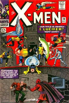 Uncanny X-Men # 20 by Jack Kirby, Werner Roth & Dick Ayers