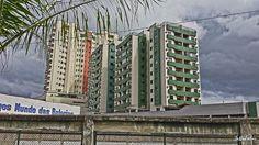 Edifícios residenciais no Aterrado, em Volta Redonda - RJ.