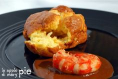 La Apple Pie di Mary Pie: Soufflé al granchio e gamberoni con bisque ristretta