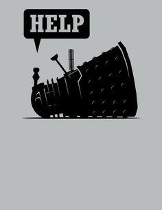 Doctor Who t-shirt cute Dalek Whovians T-shirt by VincentCarrozza