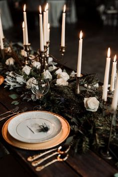 Moody Winter Wedding Inspiration by Kelcy Leigh Photography