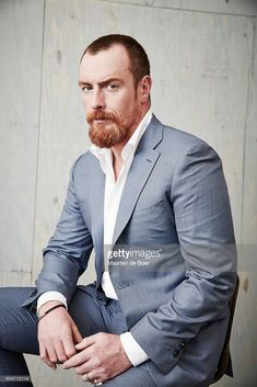 Toby Stephens of STARZ 'Black Sails' poses in the Getty Images Portrait Studio at the 2016 Winter Television Critics Association press tour at the Langham Hotel on January 8, 2016 in Pasadena, California.