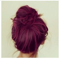 Purple hair I could pull this off