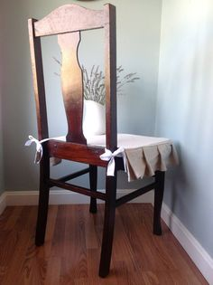 Slip Covered Dining Room Chair By Traerloves On Etsy 3500