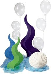 creative party decoration - under the sea theme - bjl