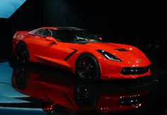 The redesigned 2014 Chevrolet Corvette Stingray is introduced the night before press previews start at the 2013 North American International Auto Show in Detroit, Michigan, January 13, 2013.