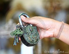 Photo about Feamle hand holding antique lock with keys. Image of security, part, design - 21633857 Under Lock And Key, Key Lock, Polaroid, Old Keys, Door Knobs, Locks, Personalized Items, Antiques, Tattoos