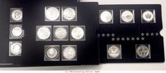 RITTER Fabulous 15 Silver Set Series 2012, 15 international collector's coins #coins