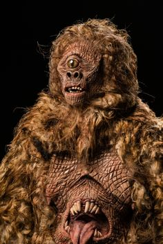 (Close-Up) Chloe & Tyler, Mapinguari, #FaceOff Season 6 - Cryptic Creatures. Photo Credit: Bruce Dorfman