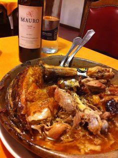 """""""La pedriza""""  Lechazo al horno. Mi preferido!!!"""