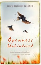 """This is part 1 of an interview of Dr. Rosaria Butterfield, a former left wing lesbian professor. She talks about her trainwreck conversion to Christianity and that she was indeed """"born that way."""" This is fascinating. Her newest book is """"Openness Unhindered."""""""
