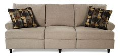 Birchwood Reclining Sofa by Trisha Yearwood Home Collection by Klaussner