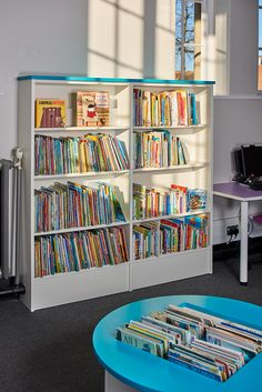 Bright Light Shelving And Furnishings From Our Mimi Range