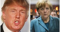 Trump Calls Merkel Insane – Migrants are Young, Strong Men About to Start Riots