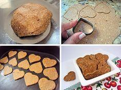 Receita totalmente desenvolvida por mim! Fiquei bem orgulhosa porque é um biscoitinhosalgado delicioso, super light e muito saudável! Pode ser feito em qualquer formato, acho até que quadradi…