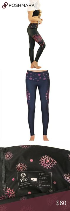 RE3 Gypsy Lotus in Bloom Sz Small Pls note stretch wear in the crotch area  Moisture bcb93cb5bbb0