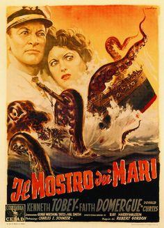 Cheri, on dirait que la baignoire refoule!?... It Came from Beneath the Sea (1955)