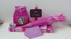 Schultüten - Süße Verpackung zur Einschulung - ein Designerstück von eigen--Art--ig---- bei DaWanda
