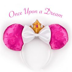 SOLD OUT, Pre-Order NOW. Aurora Ears Inspired by Disney's Sleeping Beauty