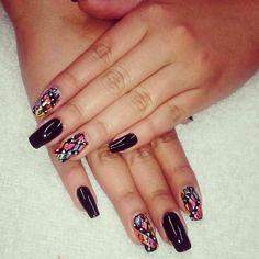 Uñas decoradas, nails art