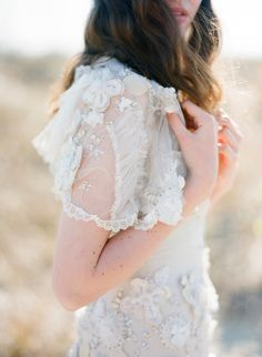 welcome to the new look and feel  - vintage wedding dress
