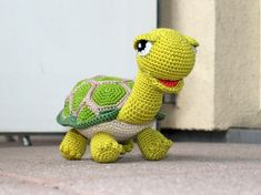 Häkelanleitung Schildkröte