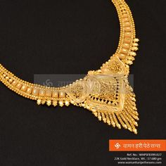 Bright and yellow, hard and cold! Elegant collections from waman hari pethe Kids Gold Jewellery, Indian Jewelry Sets, Gold Jewellery Design, Gold Jewelry, India Jewelry, Gold Necklace, Gold Bangles Design, Gold Earrings Designs, Gold Fashion